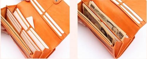 ラ・マーレがま口長財布