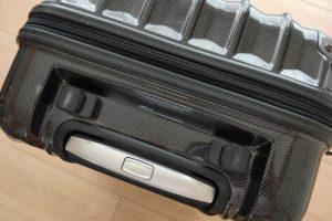 スーツケースのハンドル交換